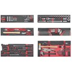 5-stufige Werkzeugbox mit 152-teiligen Werkzeugen (EVA)