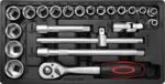 Werkzeugwagen 1 Seitentür 7 Schubladen mit 197 Werkzeugen