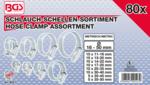 Schlauch-Schellen Sortiment 80-tlg.