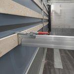 Sperrlatte Aluminium 2400-2700mm