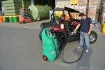 Tankbenzin 110 l atex, Pumpe 12v, sl + aut. Waffe