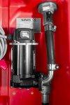 Tank Diesel rot pe 220 Liter, Pumpe 12V
