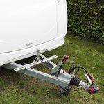 Aufnahme für Fahrradträger auf der Deichsel (niedriges Modell)