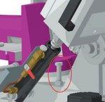 Stationäre Bandsäge variabler Durchmesser 225mm