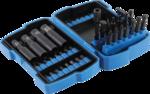 Bit- und Steckschlüssel-Set   6,3 mm (1/4) / 10 mm (3/8)   42-tlg