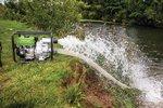 Wasserpumpe für Schmutzwasser