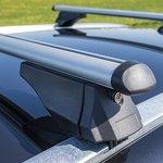 Dachrelingträger für geschlossene Dachreling 120cm Aluminium 75kg