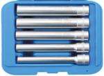 Steckschlüssel-Einsatz-Satz, Sechskant, extra tief 10 mm (3/8) SW 8 - 14 mm 5-tlg