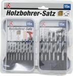 Holz-Bohrer-Satz 3 - 10 mm 15-tlg