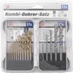 Kombi-Bohrer-Satz 1,5 - 10 mm 17-tlg