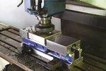 Mechanisch-hydraulische Maschinenklemme euroline 100mm