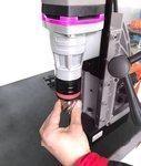Magnetischer Bohrvorschub Durchmesser 38 x 35 mm
