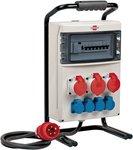 BSV 4 IP44 2m H07RN-F5G4.0 1x32A mobiler Stromverteiler + 2x16A