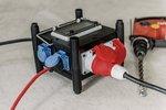 Kompakter Strömungsteiler aus Gummi BSV 3 FI/16 2 IP44 2m