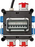Kompakter Strömungsteiler aus Gummi BSV 3/32 2 IP44 2m H07RN-F 5G4,0