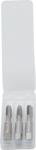 Gewindebohrer-Satz Vor-, Mittel- und Fertigschneider M5 x 0,8 3-tlg.