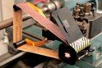 Schleifmaschine für Drehmaschine - automatisches Führungssystem 25x762mm