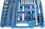Steckschlüssel-Satz Wellenprofil Antrieb 6,3 mm (1/4) / 12,5 mm (1/2) 108-tlg_