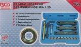 Reparatur-Satz für Bremsgewinde M9 x 1,25 16-tlg_