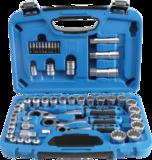 52-teiliges Gear Lock-Thru-Sockel-Set, 4,5 - 25 mm_