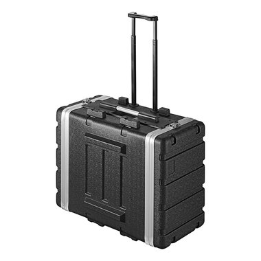 Rack Case 19 - 6U trolley