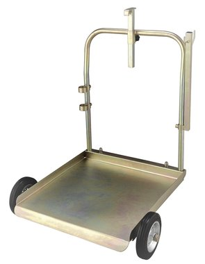 Trolley-Fasser 200 Liter Fett/Ol/blau mit Kette