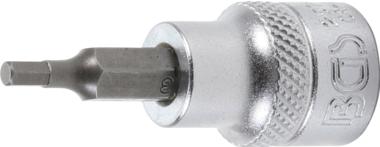 Bit-Einsatz Antrieb Innenvierkant 10 mm (3/8) Innensechskant