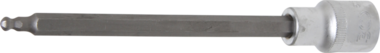 Bit-Einsatz Lange 160 mm Antrieb Innenvierkant 12,5 mm (1/2) Innensechskant mit Kugelkopf 5 mm