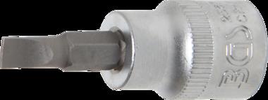 Bit-Einsatz Antrieb Innenvierkant 10 mm (3/8) Schlitz