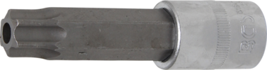 Bit-Einsatz Lange 100mm Antrieb Innenvierkant (1/2) T-Profil (fur Torx) mit Bohrung T80