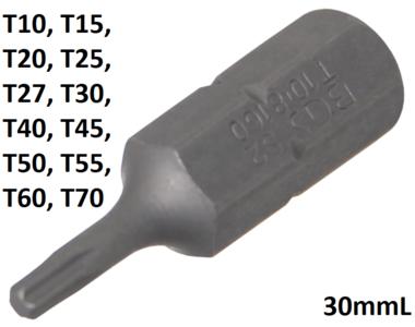 Bit (5/16) Außensechskant T-Profil (für Torx)