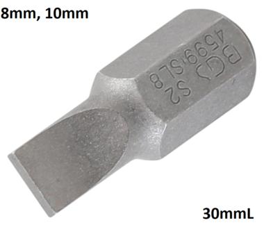 Bit Antrieb Außensechskant 10mm (3/8) Schlitz