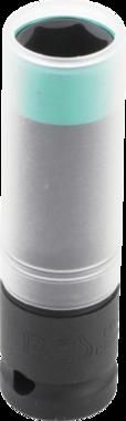 Kraft-Schoneinsatz Ultra Slim Antrieb Innenvierkant 12,5 mm (1/2) SW 15 mm