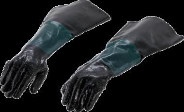 Ersatz-Handschuhe fr Druckluft-Sandstrahlkabine fr Art. 8841