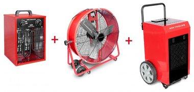 Trocknersatz BD90P + Ventilator MV600L + Heizung