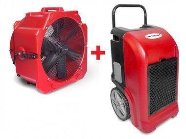 Trocknerset BDE70 + Ventilator MV500PP