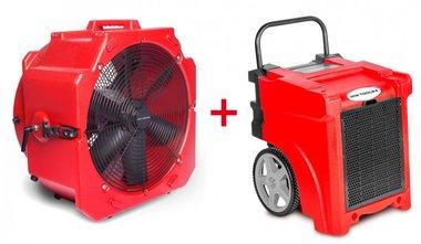Trocknerset BDE50 + Ventilator MV500PP