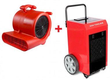 Trocknerset BD70P + Ventilator RV3000