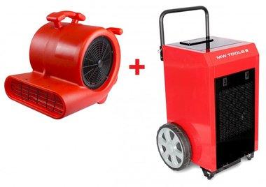 Trocknerset BD90P + Ventilator RV3000