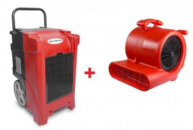 Trockner-Kit BDE90 + Ventilator RV3000