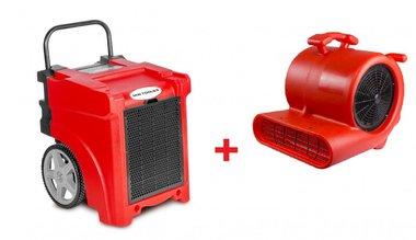 Trocknerset BDE50 + Ventilator RV3000
