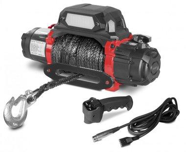 Elektrische Winde 5433kg 12V mit synthetischem Kabel