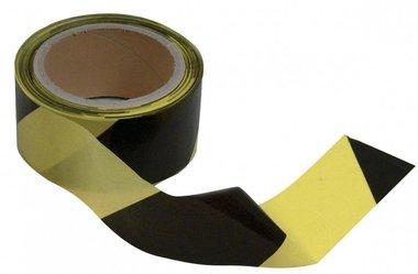 Farbbandauslass schwarz-gelb 50mm