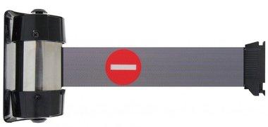 Absperrband-Bandwandmontage 2,1m