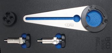 Kurbelwellen-Riemenscheibenhalter & Drehwerkzeug-Satz für BMW 2.5D