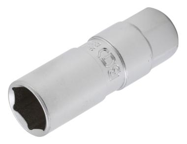 Zundkerzen-Einsatz Sechskant Antrieb Innenvierkant 10 mm (3/8) SW 16mm