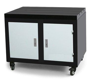 Mobile Werkbank Gusseisen-Arbeitsplatte 800x600x875mm