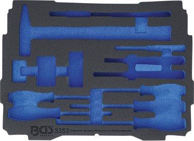 Bgs technic Koffer inlegmodule voor Art. BOXSYS1 & 2  leeg  voor Art. 3353