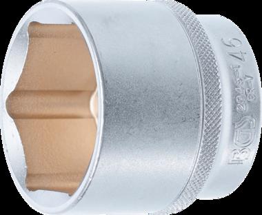 Steckschlussel-Einsatz Sechskant Antrieb Innenvierkant (1/2) SW 46 mm