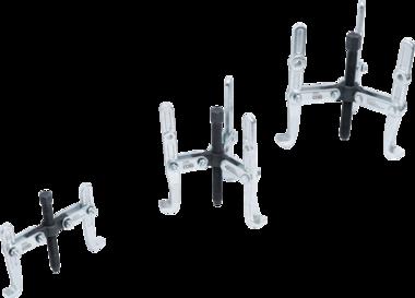 Abzieher-Satz, 2-/3-armig 100 / 120 / 150mm 3-tlg